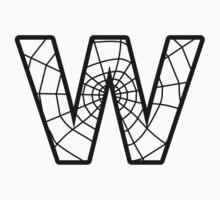 Spiderman W letter Kids Tee