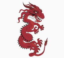 Red Dragon Kids Clothes
