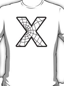Spiderman X letter T-Shirt
