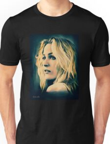 Gillian Anderson in oil colors Unisex T-Shirt