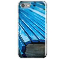 Blue Bench iPhone Case/Skin