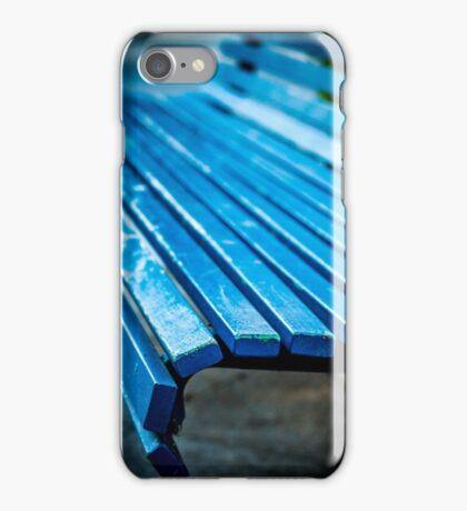 Blue Bench iPhone Case/Skin