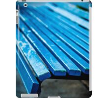 Blue Bench iPad Case/Skin
