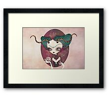 Arielle (Aries) ~ Zodiac Series Framed Print