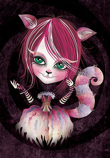 Cheshire Kitty by sandygrafik