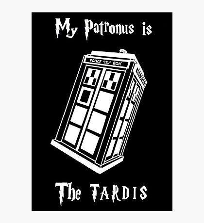 My Patronus is The Tardis Photographic Print