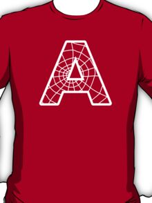 Spiderman A letter T-Shirt