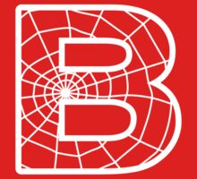 Spiderman B letter by Stock Image Folio