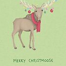 Merry Christmoose by Katie Corrigan