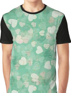 Valentine Pattern Graphic T-Shirt