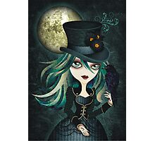 Raven's Moon Photographic Print