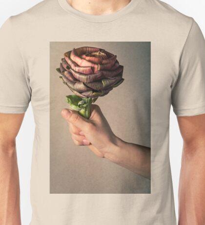 Artichoke flower like a rose Unisex T-Shirt