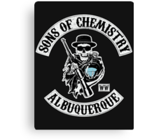 Sons of Chemistry Canvas Print