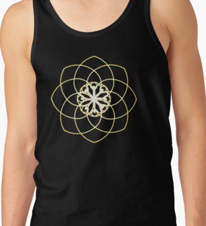 Many hearts, Much Joy! - Gold Phi Spiral T-Shirt