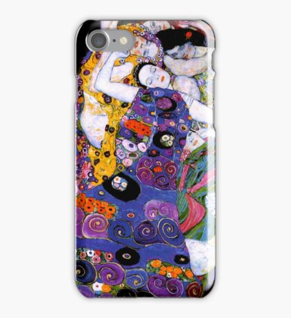 The Virgin by Gustav Klimt Fine Art  iPhone Case/Skin