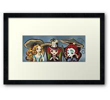 Alice's Tea Party Framed Print