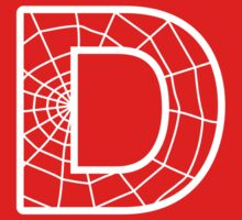 Spiderman D letter by Stock Image Folio