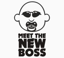 Meet The New Boss VRS2 Kids Clothes