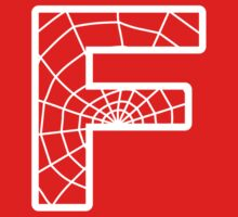 Spiderman F letter by Stock Image Folio