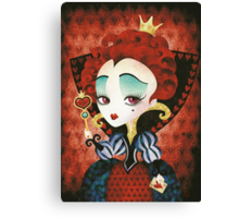 Queen of Hearts Canvas Print