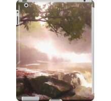 landscape waterfall lake river iPad Case/Skin