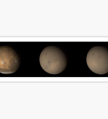 The 2001 Great Dust Storms on Mars. Sticker
