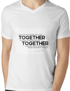 together, together - jimmy carter Mens V-Neck T-Shirt