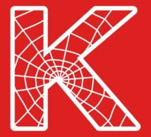 Spiderman K letter Kids Tee