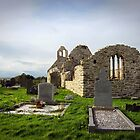 St. Dubhan's Church, Hook Peninsula, Co. Wexford, Ireland by David Carton