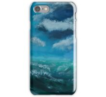 Il cielo sopra il mare - The sky over the sea iPhone Case/Skin