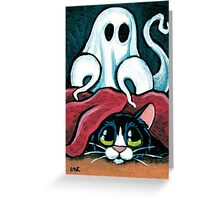 Ghostly Goings On Greeting Card