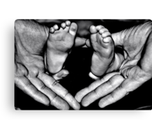 All fingers & toes ( version 2) Canvas Print