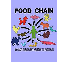 FOOD CHAIN Photographic Print