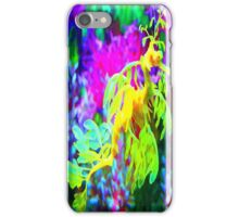 seahorse coral reef animal abstract iPhone Case/Skin
