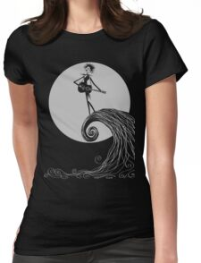 Robert Skellington - Silver Gray Womens Fitted T-Shirt