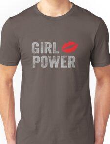 Girl Power Kiss Unisex T-Shirt