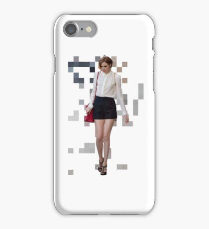 Pixel Karen. iPhone Case/Skin