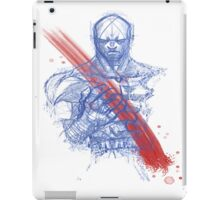 Angry Scar iPad Case/Skin