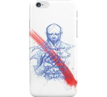 Angry Scar iPhone Case/Skin