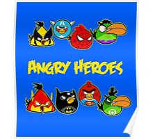 angry heroes Poster