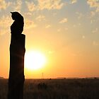 Bengal Cat enjoying the sunset... Free State, South Africa by Qnita