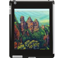 Three Sisters, Blue Mountains iPad Case/Skin