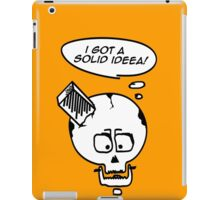 Something solid to think about! iPad Case/Skin