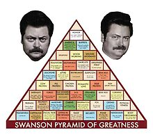 The Swanson Pyramid by kfinpowers