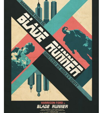 Ridley Scott's Blade Runner Film Poster Sticker