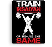 Train Insaiyan Remain Same Canvas Print