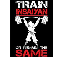Train Insaiyan Remain Same Photographic Print