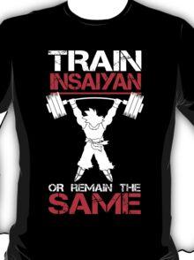 Train Insaiyan Remain Same T-Shirt
