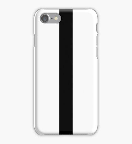 Black Zip iPhone Case/Skin