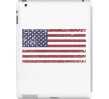 Vintage Look Stars and Stripes American Flag iPad Case/Skin